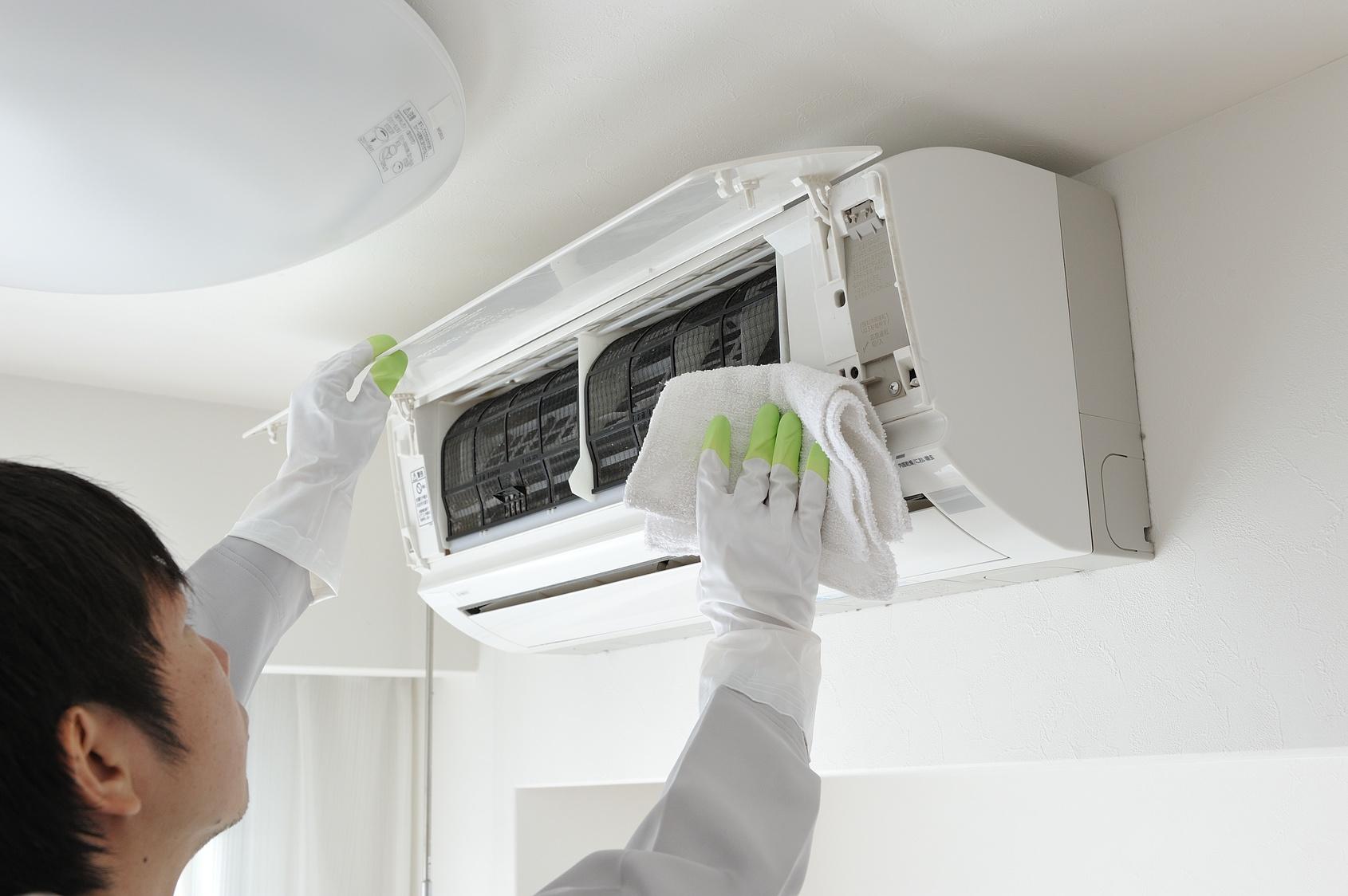 エアコンの掃除方法がわからない人へ